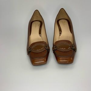 Cole Haan brown leather heels